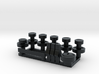 RCN041 Dashboard parts for Chevy 66 Pro-Line 3d printed