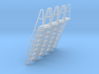 HO Scale Ladder 8 3d printed
