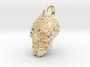 Mayan skull pendant 3d printed