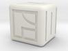 kanji dice 3d printed