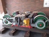 Tatra tram 1000 mm bogie kit - 0 scale [2x bogie] 3d printed Real Tatra T3 narrow guage bogie