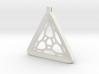 Surround ::: Triangle Pendant ::: v.01 3d printed
