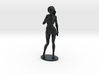 Cosplay Girl 33.16mm Tall  (Titan Master Scale) 3d printed