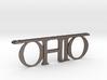 Ohio Bottle Opener Keychain 3d printed