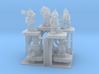 SHAFTED: Brilliant Blue Gnomes Frosted 3d printed