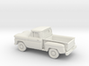 1/87 1960/61 Chevrolet C10 Stepside Small Rear Win 3d printed