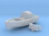 1/128 Royal Navy 16ft Fast Motor Boat 3d printed 1/128 Royal Navy 16ft Fast Motor Boat