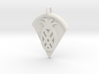 Pineapple Pizza Pendant 3d printed