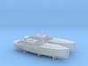 1/200 DKM 9m Captains Gig Set 3d printed