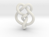 Miller institute knot (Circle) 3d printed