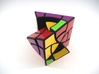Curvy Jumble Prism Plus Puzzle 3d printed Multiple Turns