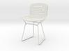 "Knoll Bertoia Side Chair Frame 4""H 3d printed"