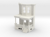 WEST PHILLY ROW HOME FRONT END CUT 87 3d printed