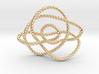 Ochiai unknot (Rope) 3d printed