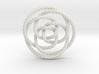 Rose knot 3/5 (Rope) 3d printed