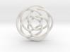 Rose knot 4/5 (Circle) 3d printed
