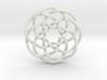 Rose knot 7/5 (Circle) 3d printed