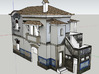 Portuguese Train Station 1:87 Scale - Now in Full  3d printed Render Of the Model On SketchUp
