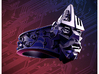 Neuromancer Avatar Ring (US Size 9) 3d printed