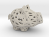 Sandstone Voronoi Lucky Pig by Xenyo 3d printed Sandstone Voronoi Lucky Pig by Xenyo