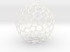 Polyhedron Ornament - Chamfered Truncated Icosahed 3d printed