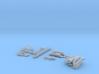 HO/1:87 Crawler Carrier pipes transporter kit 3d printed