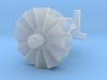 1/160 N Scale FIre or Civil Defense Siren 3d printed
