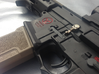 Punisher Skull Bolt Catch (Marui Style M4's) 3d printed