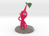 Red Pikmin Colored 3d printed