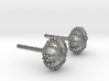 Seaurchin Earring 3d printed