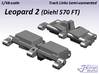 1/48 Leopard 2 Track Links semi-connected 3d printed