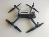 Mavic Pro: Landing Gear Extender 3d printed Detail of the piece and the Mavic