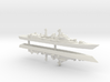 Type 052 Destroyer x 2, 1/1250 3d printed