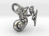 Human Ear Anatomy  3d printed