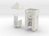 HOF021 - Castle gate tower 3d printed