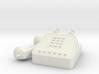 Miniature Telephone 1/6 Retro 80's 90's 3d printed