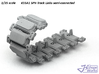 1/35 K55A1 SPH Track Links semi-connected  3d printed
