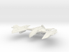 Romulan GunHawk Class  B WarCruiser II  Big 3d printed