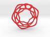 Hex Möbius, 64mm 3d printed