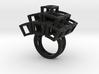 Kubusring-3 / Cubesring-3 layers 3d printed