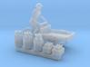 Milk tricycle (N 1:160) 3d printed