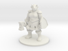 Female Minotaur Warrior 3d printed