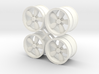 A/R 1/12 200S wheel set 15 inch 3d printed
