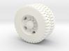 M809 11.0-20 NDT Dual Rear Wheels 1/72 3d printed
