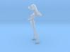 1/18 Race Queen w Umbrella Nude 3d printed