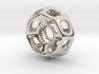 Nest ::: Circle Pendant ::: v.01 3d printed