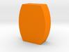 Flat Barrel Game Piece 3d printed