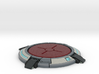 Portal button Coaster 3d printed