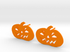 Jack-O-Lantern Earrings 3d printed