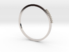 Minimalist Stackable Ring 3d printed